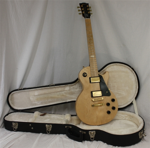 gibson les paul studio raw power natural satin 2009. Black Bedroom Furniture Sets. Home Design Ideas