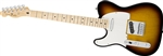 Fender Standard Telecaster Left Handed - Brown Sunburst