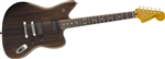 Fender Modern Player Jaguar Electric Guitar - Black Transparent