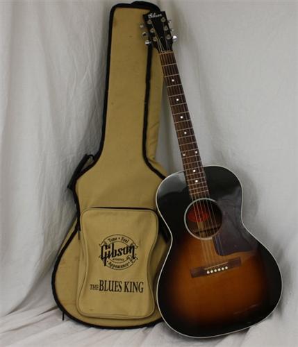 gibson blues king acoustic guitar vintage sunburst 2003. Black Bedroom Furniture Sets. Home Design Ideas
