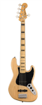 Squier by Fender Classic Vibe 70s Jazz Bass V (Natural) - 2020