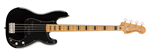 Squier by Fender Classic Vibe 70s Precision Bass (Black) - 2020