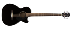 Fender CB-60SCE Acoustic Bass (Black) - 2020