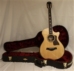 Taylor 812ce 12-Fret Deluxe Grand Concert Acoustic-Electric Guitar - Natural