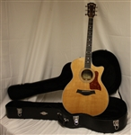 Taylor 414ce Grand Auditorium Acoustic/Electric Guitar - Natural (2011)