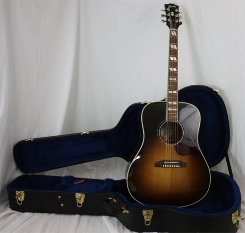 gibson hummingbird pro acoustic electric guitar 2012. Black Bedroom Furniture Sets. Home Design Ideas