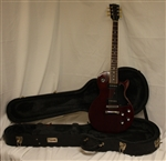 "Gibson Les Paul Special Single-Cutaway - Dark Cherry ""Repaired Headstock"" (2010)"