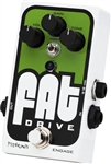 Pigtronix Fat Drive Tube-Sound Overdrive Guitar Effects Pedal