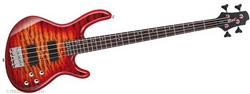 Cort ACTION-DLX CRS Cherry Red Sunburst Action Bass Guitar