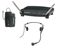Audio-Technica ATW-801/H VHF Wireless Headset Microphone System