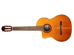 Cordoba C5-CE Left-Handed Acoustic-Electric Nylon String Classical Guitar