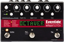 Eventide PitchFactor Harmonizer Guitar Multi Effects Pedal