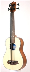 Kala U-Bass Spruce Top Ukulele (Frettless)