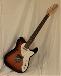 Fender Deluxe Thinline Telecaster - 3-Color Sunburst (2016)