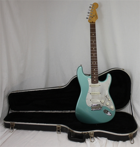 Fender Lone Star Stratocaster Teal Green Metallic 1997