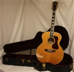Guild F412 Jumbo 12-String Acoustic Guitar - Natural (2010)