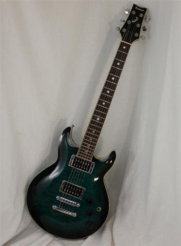 ibanez arx320 electric guitar transparent green 2007. Black Bedroom Furniture Sets. Home Design Ideas