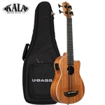 Kala U-Bass Scout - Natural Satin w/ Padded Bag