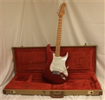 Fender Yngwie Malmsteen Stratocaster® - Candy Apple Red (1995)