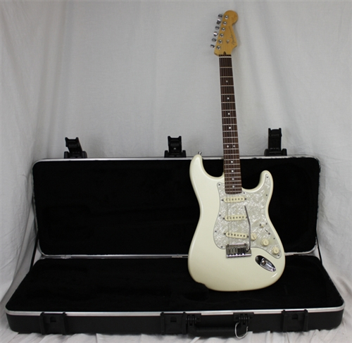 Fender American Deluxe Stratocaster Olympic Pearl 2011