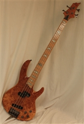 ESP LTD RB-1004BM Electric Bass Guitar - Burled Maple