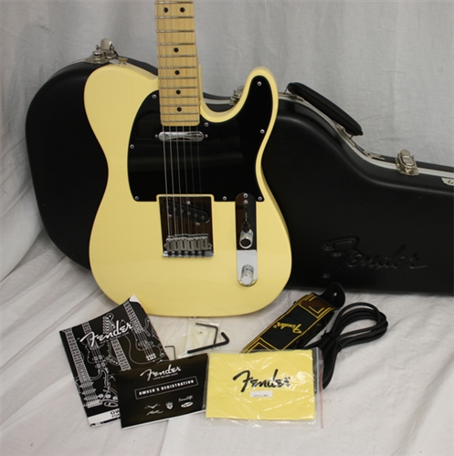 American standard telecaster vintage white magnificent words