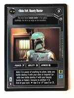 Star Wars CCG (SWCCG) Boba Fett, Bounty Hunter