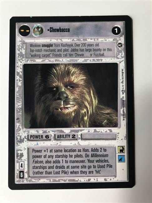 kaartspellen STAR WARS CCG REFLECTIONS TANTIVE IV Losse kaarten spellen