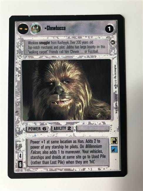 Star Wars CCG (SWCCG) Chewbacca