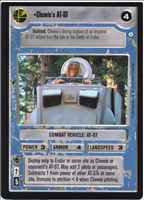 Star Wars CCG (SWCCG) Chewie's AT-ST