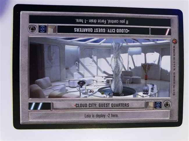 Star Wars CCG (SWCCG) Cloud City: Guest Quarters