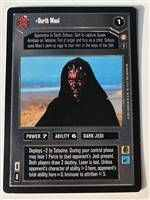 Star Wars CCG (SWCCG) Darth Maul