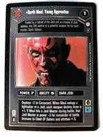 Star Wars CCG (SWCCG) Darth Maul, Young Apprentice
