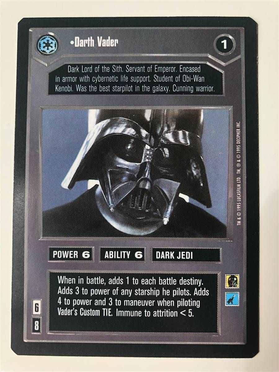 Star Wars CCG Theed Palace Rare Bravo 1