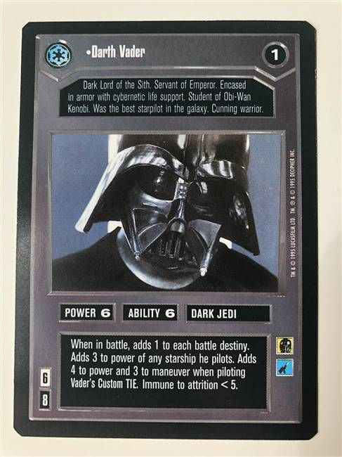 Star Wars CCG (SWCCG) Darth Vader
