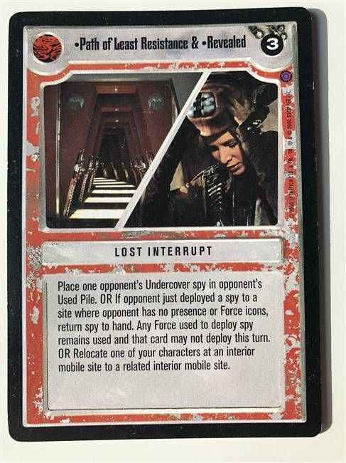 Star wars ccg DECIPHER-Sorry About The Mess /& Blaster Proficiency