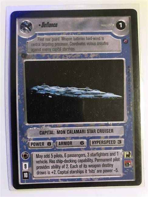 Star Wars CCG (SWCCG) Defiance