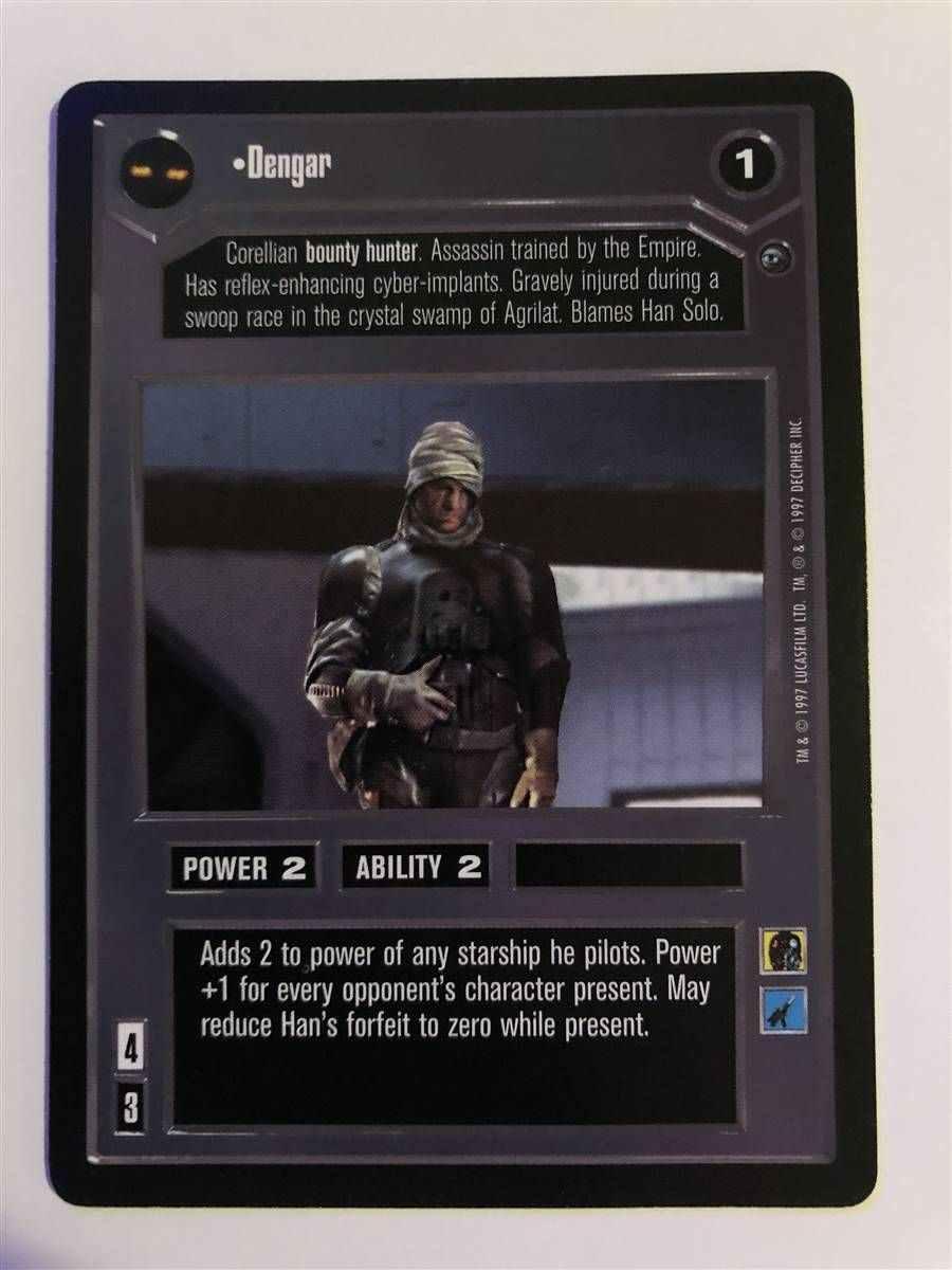 Star Wars CCG Jabbas Palace Card Hutt Bounty