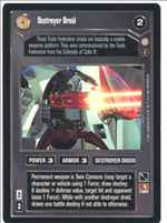Star Wars CCG (SWCCG) Destroyer Droid