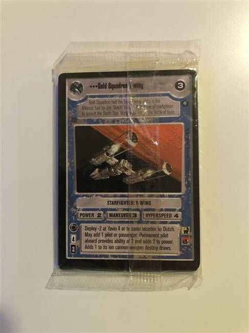 Star Wars CCG (SWCCG) Official Tournament Sealed Deck - OTSD Complete Set (Sealed)