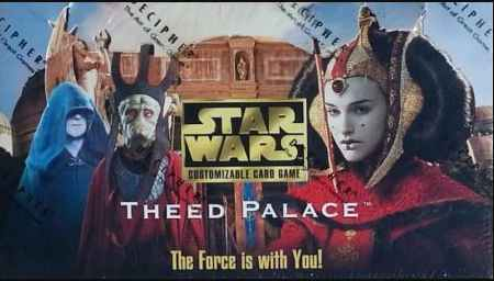 Star Wars CCG (SWCCG) Theed Palace Complete Set (With AI)