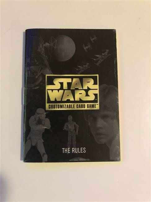 Star Wars CCG (SWCCG) Star Wars Premiere Rule Book