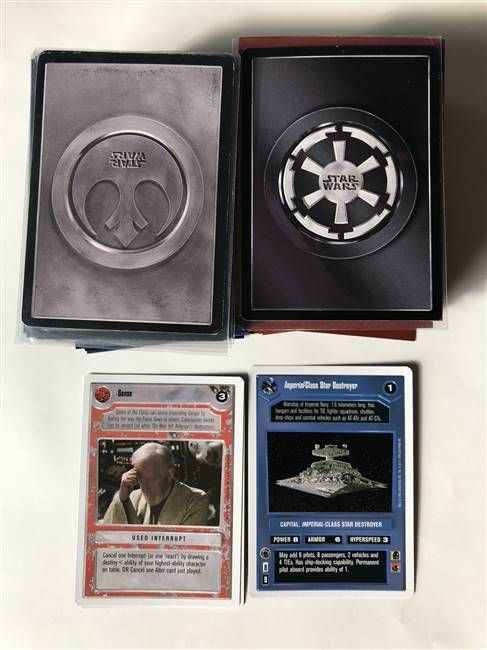 Star Wars CCG (SWCCG) Premiere Unlimited Common/Uncommon Set