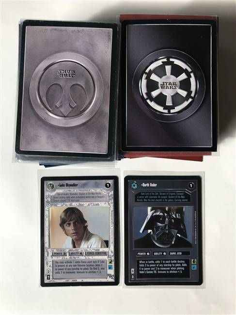 Star Wars CCG (SWCCG) Premiere Limited Complete Set