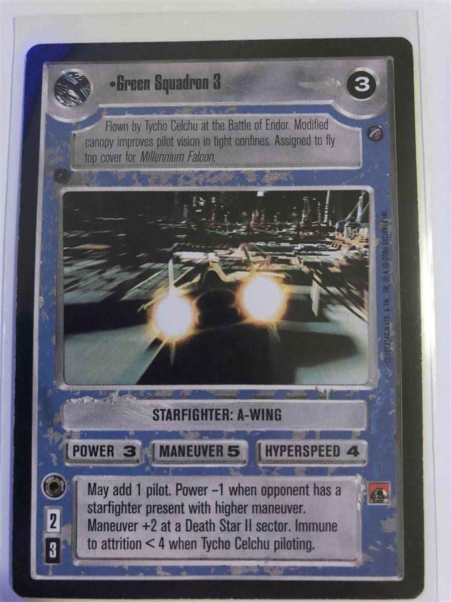 Star Wars CCG Endor Foil Cards 1//1