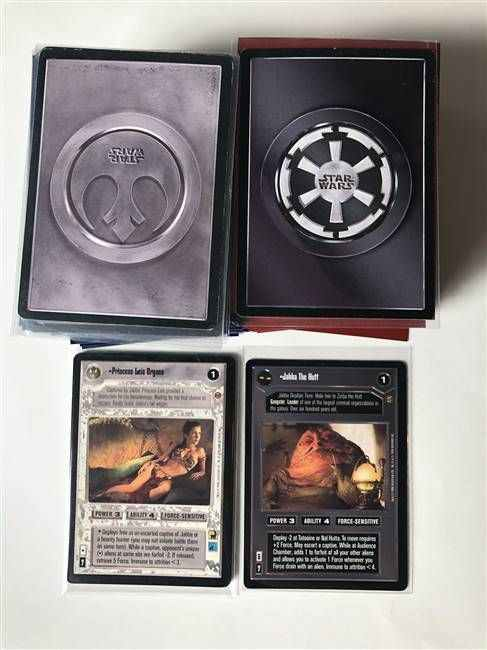 Star Wars CCG (SWCCG) Jabba's Palace Complete Set