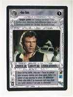 Star Wars CCG (SWCCG) Han Solo