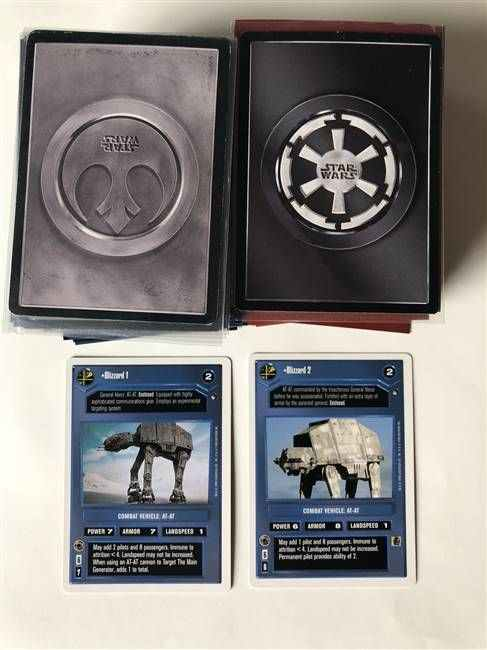Star Wars CCG (SWCCG) Hoth Revised Complete Set