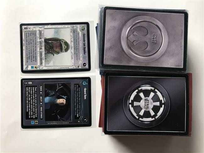 Star Wars CCG (SWCCG) Hoth Limited Complete Set