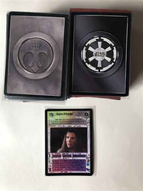 Star Wars CCG (SWCCG) Endor Complete Set (With Foils)